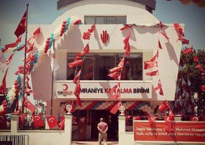 Ümraniye Belediyesi Kızılay Hizmet Binası
